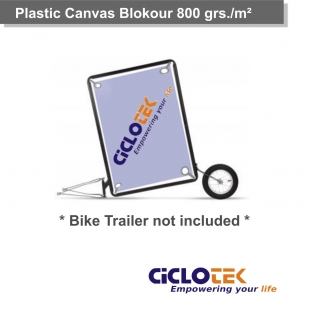Blockour Plastic Canvas 800 grs./m²