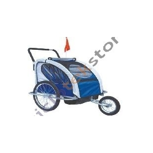 Bicycle Trailer / Jogger Ciclotek 2 kids