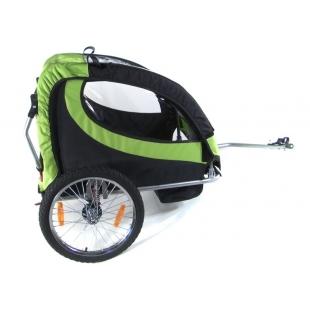 360º  wheel CicloTEK bicycle trailer / jogger for 2 kids